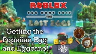 [Roblox] Egg hunt 2017: Getting the Popeiian Egg & Eggcano