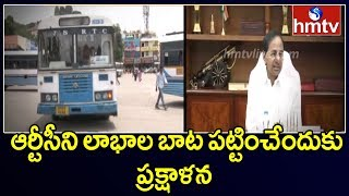 CM KCR To andquot;Change Dress Code of Telangana RTC Employees | hmtv Telugu  News