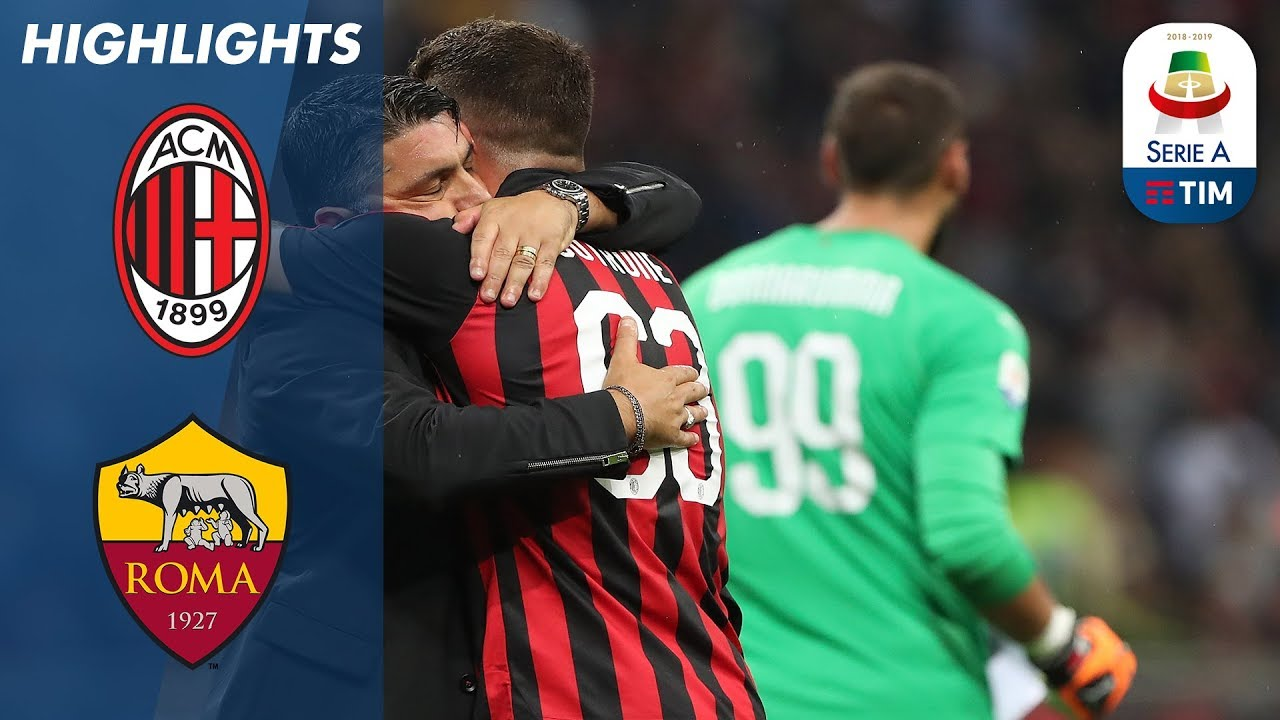 Serie A: Cutrone Wins It Late For Milan