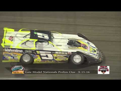 Lucas Oil Late Model Knoxville Nationals Night #1 9-15-2016