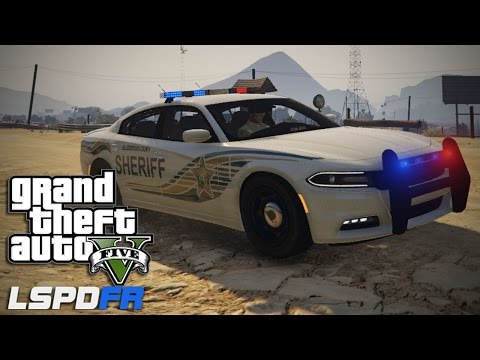 GTA V LSPDFR #4 Hillsborough County Sheriff's 2015 Dodge Charger