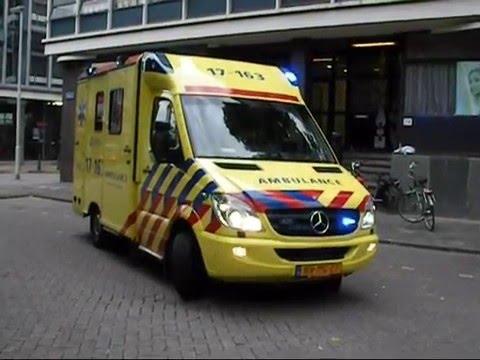 Compilatie dag Ambulance post Baan Rotterdam