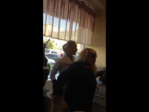 Драка с Ревизорро в кафе Юность в Мурманске