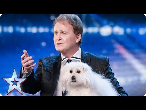 Thumbnail: Marc Métral and his talking dog Wendy wow the judges | Audition Week 1 | Britain's Got Talent 2015