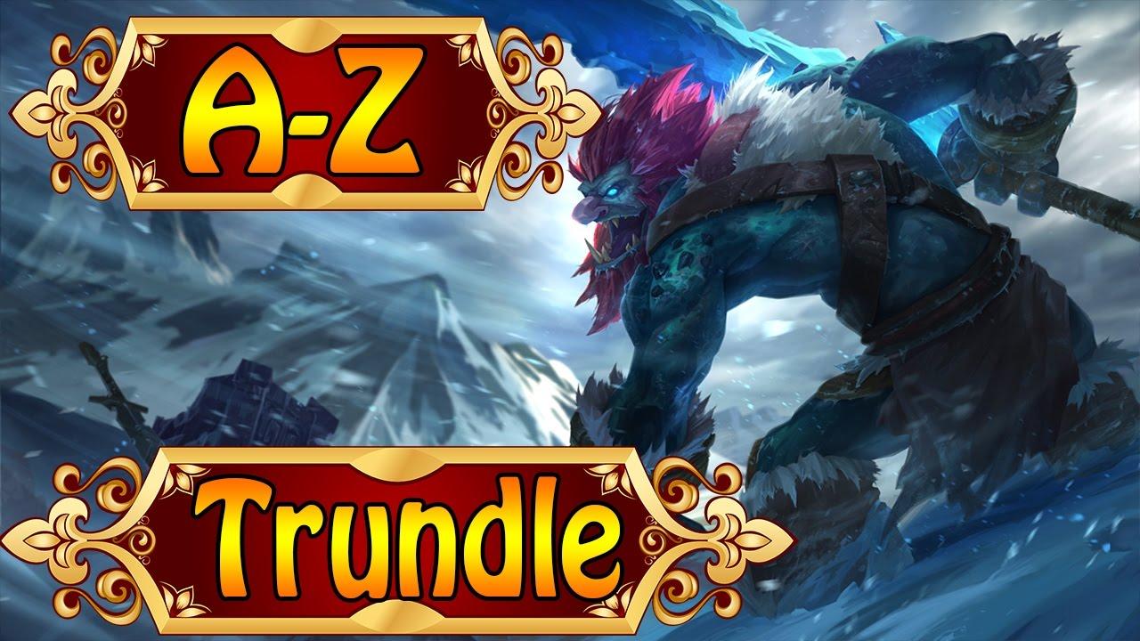 Trundle build guides on mobafire. trundle der trollkonig top lane dominieren lol a z