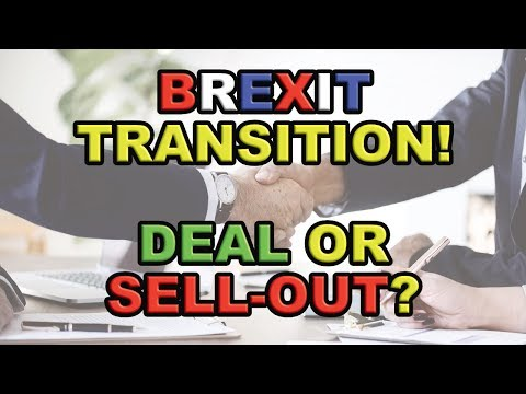 ⁉️ Brexit Transition: Deal or Sell-Out⁉️