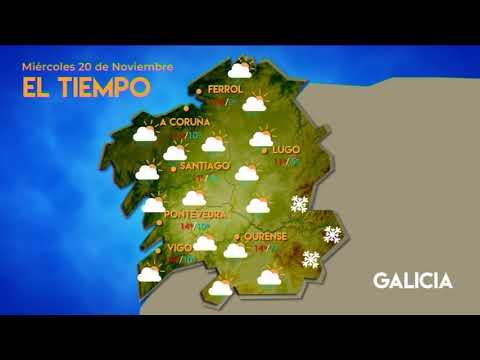 ¿Qué tiempo hará este miércoles en Ourense?
