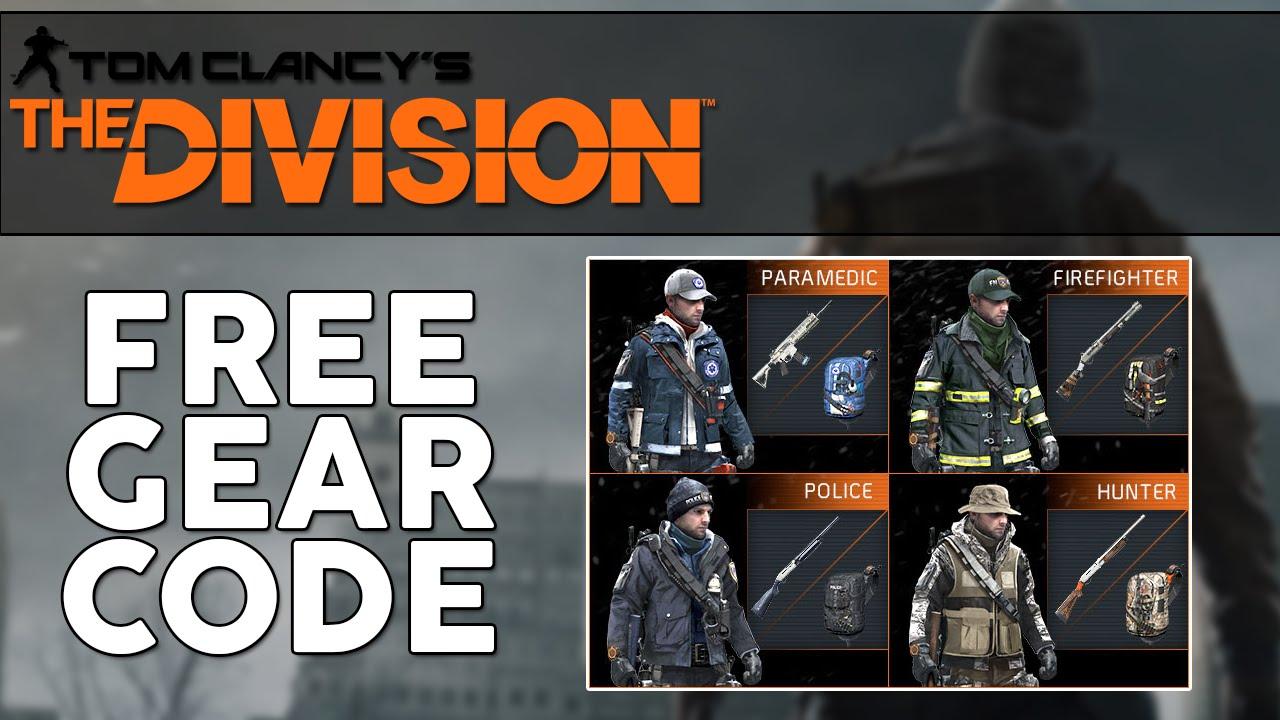 Tom Clancy's The Division Agent Origins Free Gear Sets! Agent Origins Gear  Code!