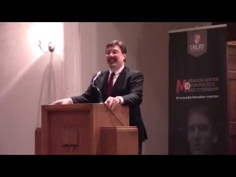 Tom Nichols: How Social Media and Narcissism Are Destroying Democracy (Meador Center Speaker Series)