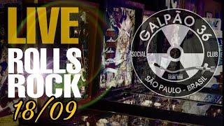 LIVE ROLLS ROCK - GALPÃO 36