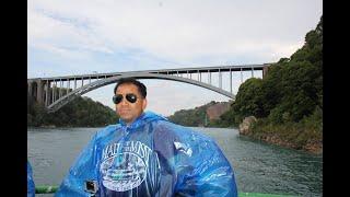 Niagara river cruise to Niagara falls USA & Canada