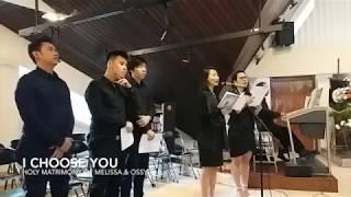 Video I Choose You [WEDDING VOCAL GROUP] download MP3, 3GP, MP4, WEBM, AVI, FLV Juli 2018