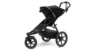 Stroller - Thule Urban Glide 2 (video with bassinet and car seats adapters)