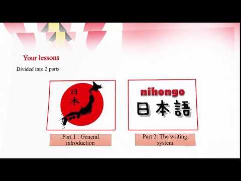 Learn Japanese for beginer lesson 1