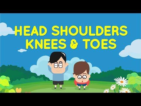 Head Shoulders Knees And Toes | Lagu Anak Eza Dan Adi