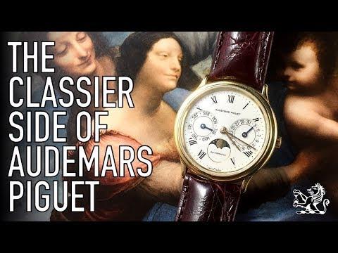 A Perfect Gentlemen's Luxury Dress Watch & The Classier Side Of Audemars Piguet  - BA25589 Review
