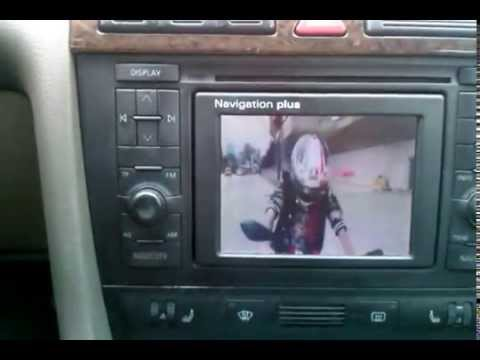 audi navigation plus rns d tv mp3 videoclip aux youtube. Black Bedroom Furniture Sets. Home Design Ideas