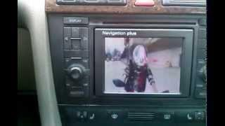 audi navigation plus RNS-D.TV,MP3.VIDEOCLIP.AUX