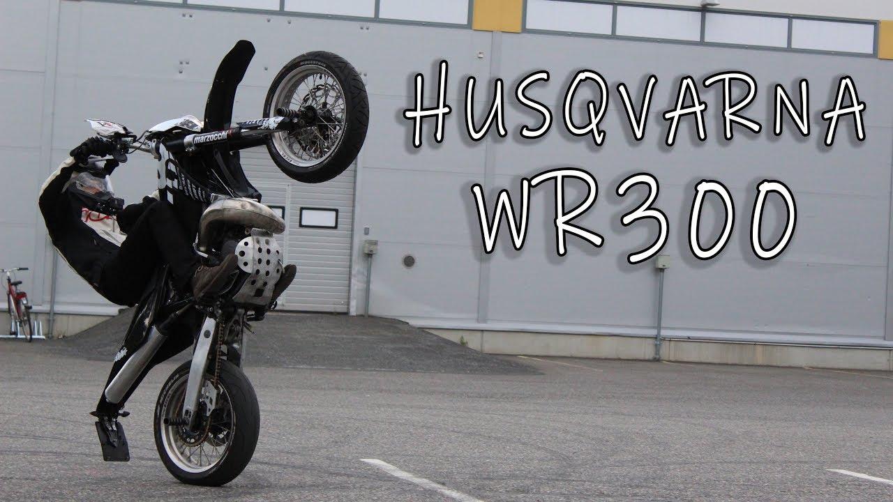 Testissä Husqvarna WR300 + 2018 käyttämättömät klipit - YouTube a8e0a1f6a1
