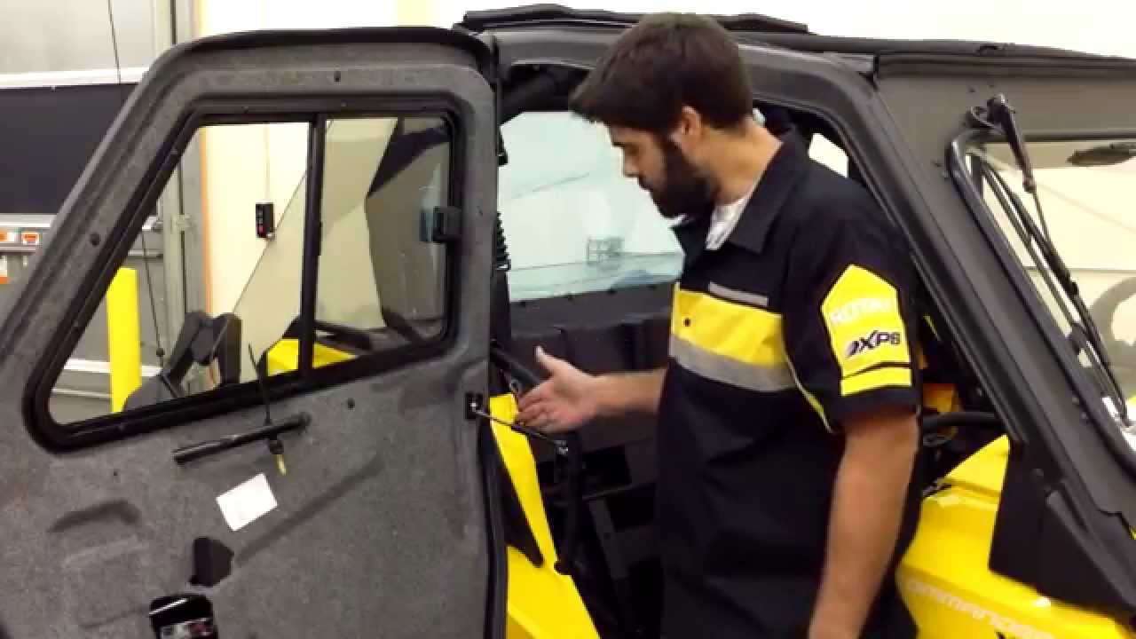 & Installation Process for Can-Am Doors for Cab Enclosure - YouTube pezcame.com