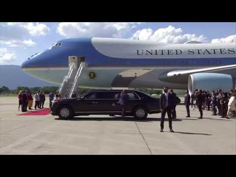 President Joe Biden travels to Geneva ahead of meeting with Putin