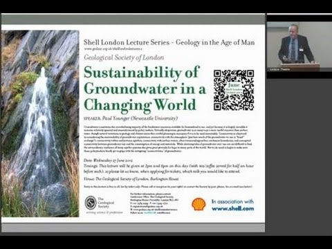 Sustainability of groundwater in a changing world