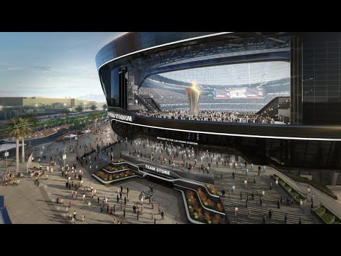 Oakland Raiders Las Vegas NFL Stadium To Be Finished February 17, 2022 For Now