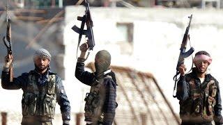 الجيش السوري الحر يبث فيديو لأسرى من داعش في ريف حلب