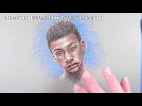 How to Mix Dark Skin Tones Colored Pencils