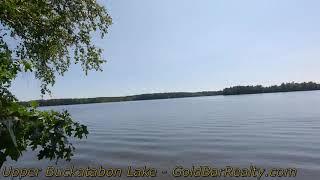 Upper Buckatabon Lake Video 1
