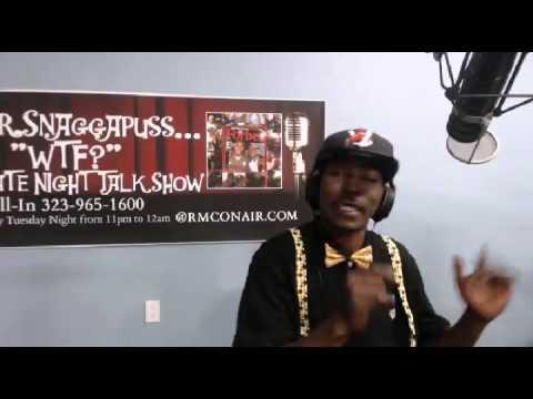 Mr. Snaggapuss WTF? Late Night Talk Show 5 12 15