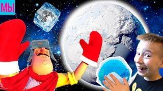 - НОВЫЙ ПРИВЕТ СОСЕД Заморозили планету Новая серия Супермаркет Hello Neighbor полная версия Акт 3