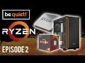AMD Ryzen 1600X CPU Water Cooling Tutorial Ft Be Quiet! The Build