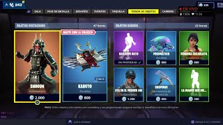 THE *NEW STORE* OF FORTNITE TODAY NOVEMBER 18 *NEW SKIN* SHOGUN AND...