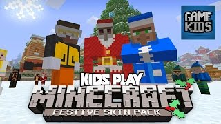 Minecraft Festive Pack With Matt, Webb And Mills - Kids Play