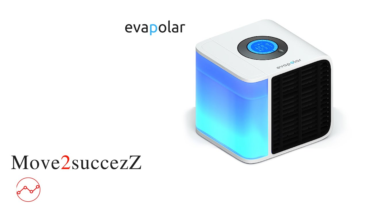 evapolar | indiegogo project |personal air cooler/ world's first