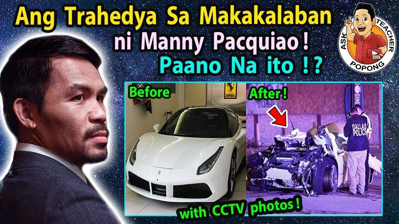 🔴  A-N-G  TRAHEDYA  sa  Kotse ng  Makakalaban Ni Manny Pacquiao !  NAKU PO!