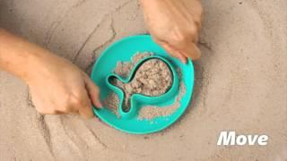 Волшебные формочки для песка Quut StarFish