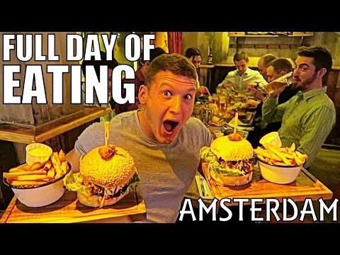 STAG DO IN AMSTERDAM | Full Day of Eating