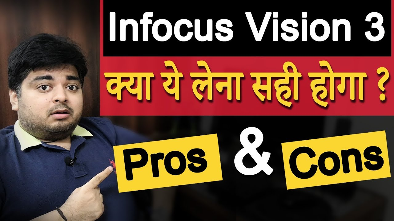 Infocus Vision 3 Review with Pros & Cons After 1 Month of use | Is it worth it to buy? | in Hind