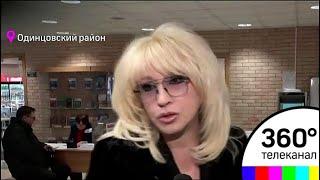 Народная артистка России Ирина Аллегрова проголосовала в Одинцовском филиале МГИМО