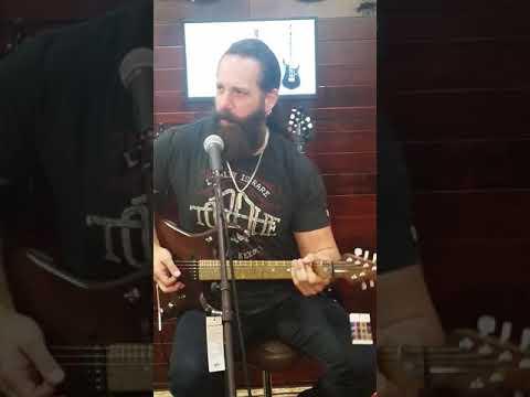 John Petrucci at Sam Ash On Sunset in LA