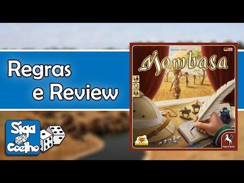 MOMBASA   REGRAS E REVIEW #6