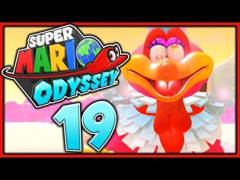 ESSSÜCHTIGER Vogel GESICHTET! 🌛 Super Mario Odyssey #19 [FACECAM]