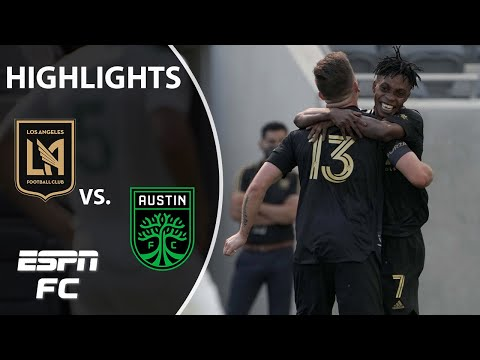 Carlos Vela watches LAFC beat Austin FC after bizarre substitution | ESPN FC MLS Highlights
