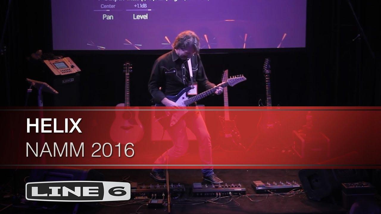 Download Helix Presentation - NAMM 2016 | Line 6