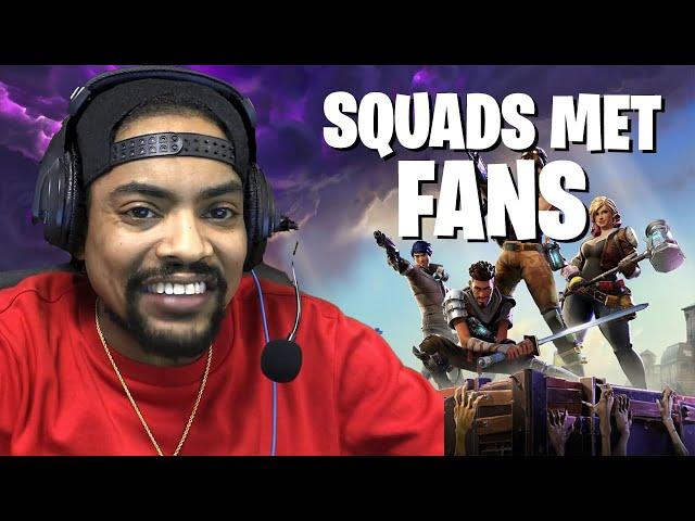 Fortnite squads samen met wat volgers en fans ❤️ (Battle Royale)