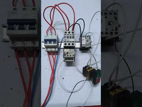 Como ligar um comando elétrico com tensão de 24 volts