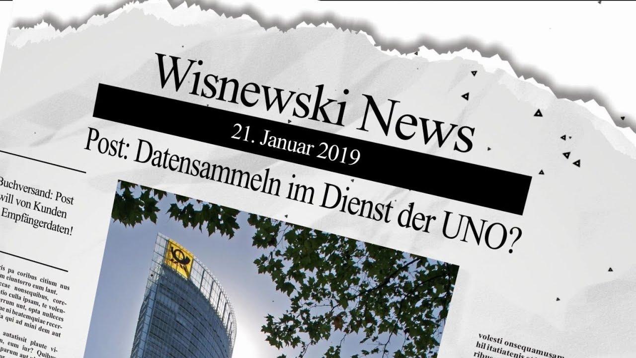 Gerhard Wisnewski - Buchversand: Post will Empfängerdaten von den Kunden!