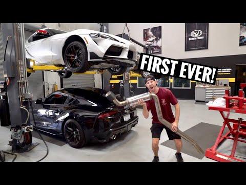 My 2020 Supra Prototype Catback Exhaust!